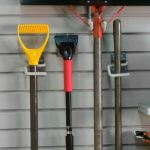 slatwall custom garage organization